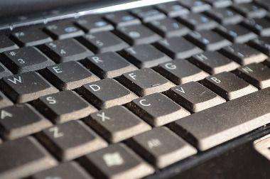 Keyboard gathering dust