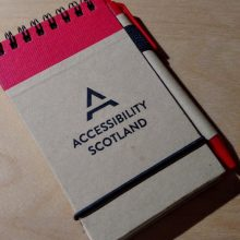 Accessibility Scotland notebook