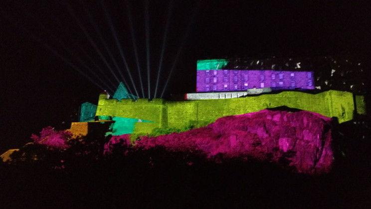 Deep Time at Edinburgh Castle