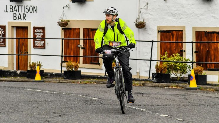 Me at Bridge Inn during Pedal for Scotland