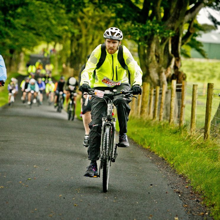 Me at Hulks during Pedal for Scotland