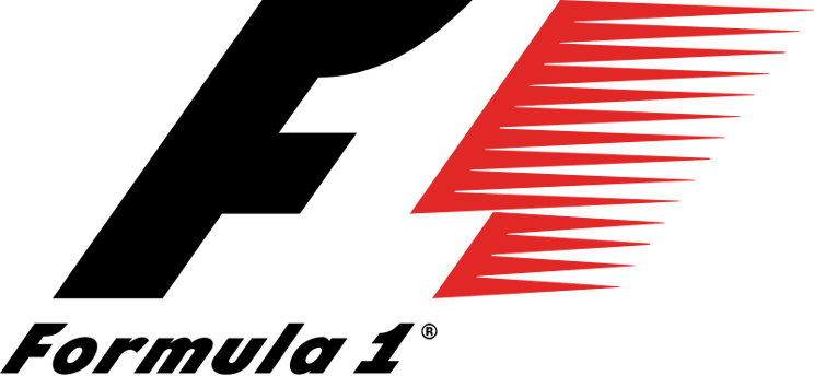 The old, iconic Formula 1 logo