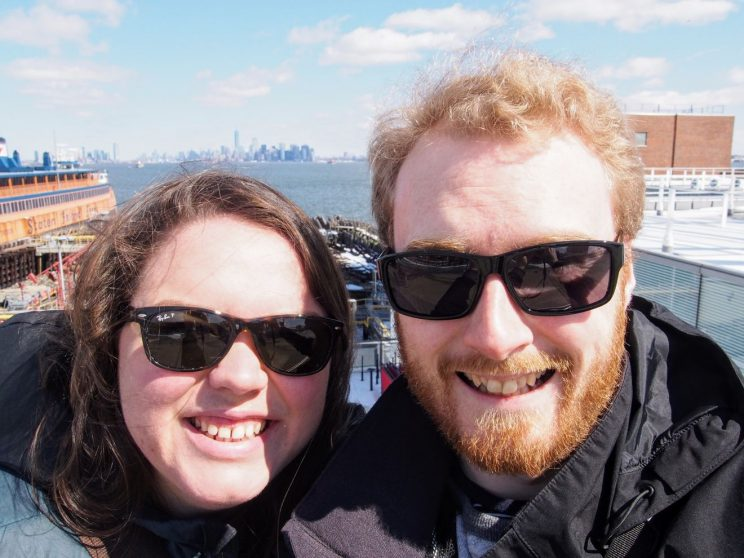 Alex and me on Staten Island