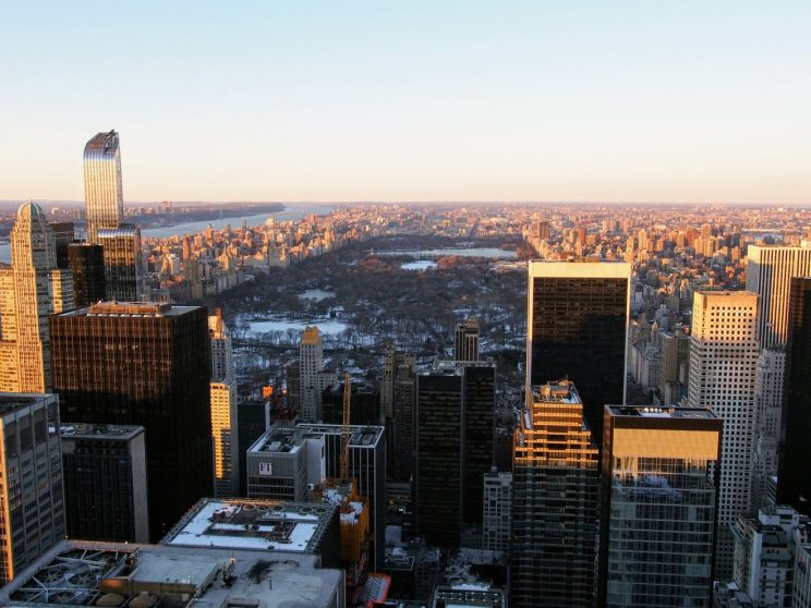 View of New York from the Rockefeller Center