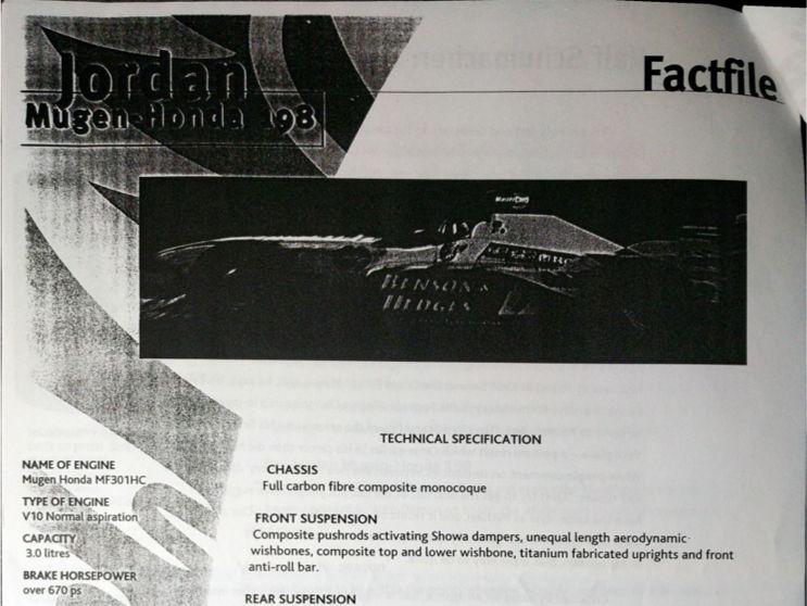 Jordan technical specifications