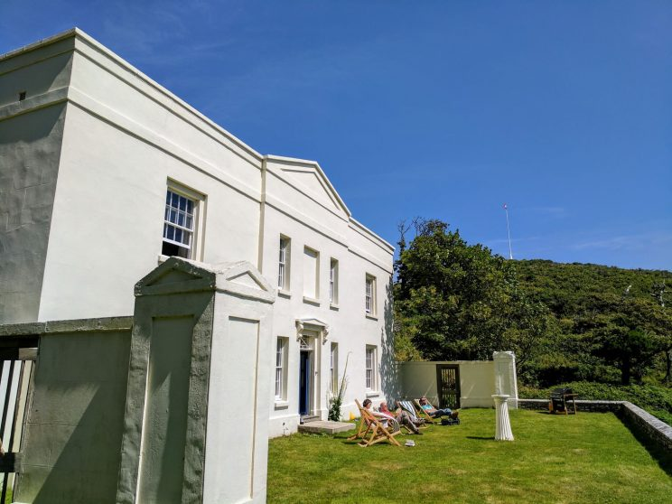 Front of Millcombe House