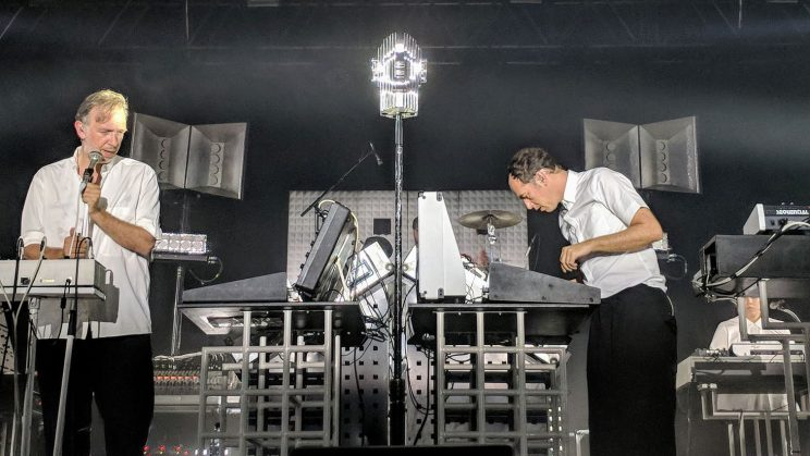 Soulwax at SWG3 in Glasgow, 15 July 2018