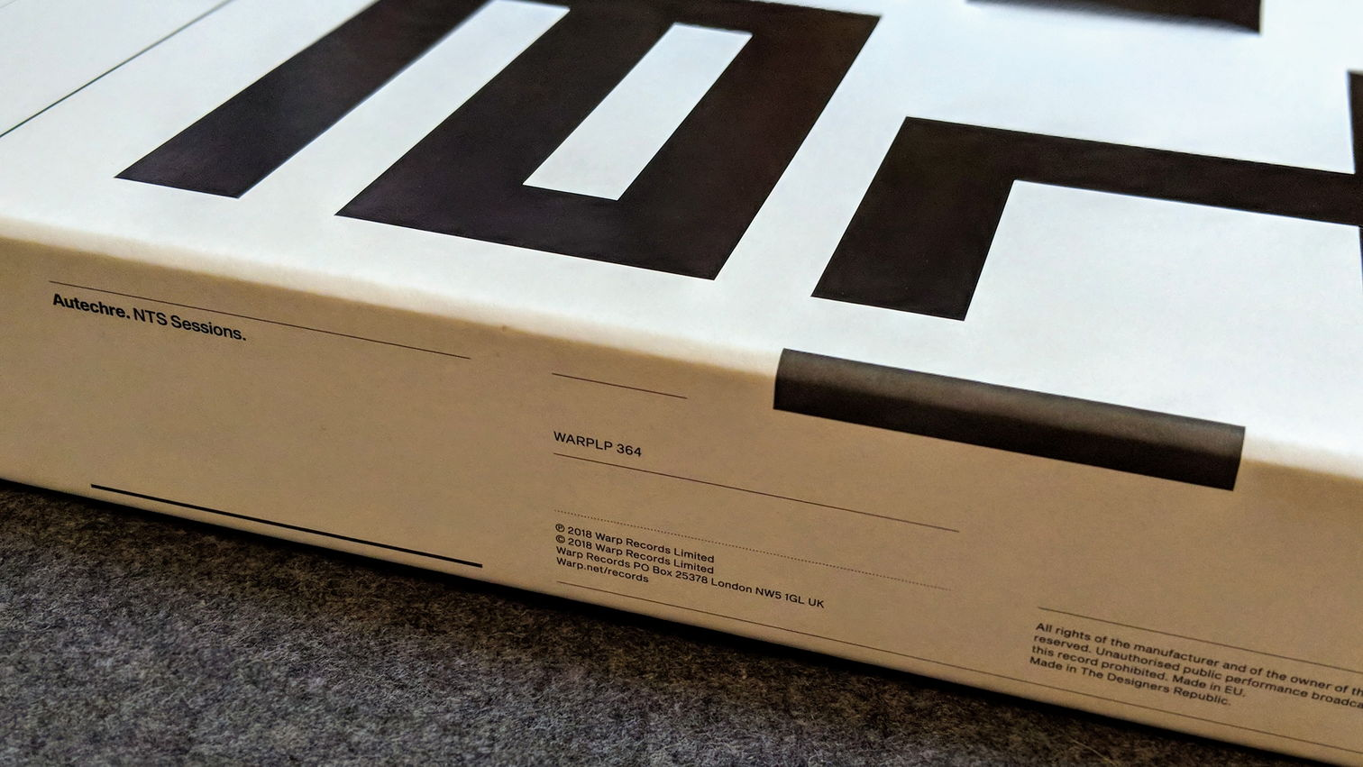 NTS Sessions vinyl box set