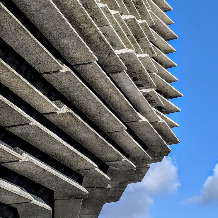V&A Dundee exterior detail