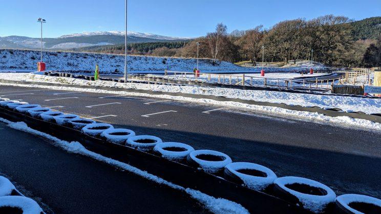 Icy kart circuit