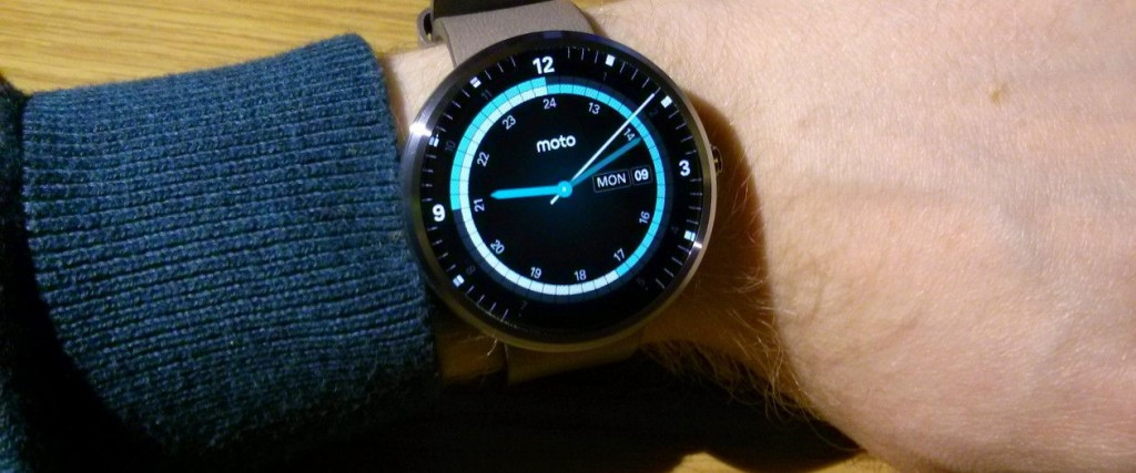 Hands on with the Moto 360 Android smartwatch | Duncan Stephen