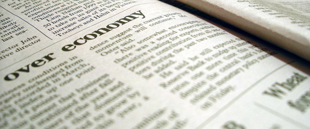 Close-up of a newspaper