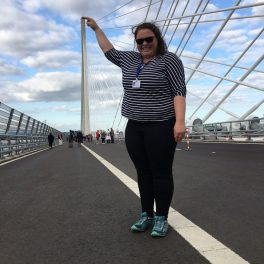 Alex at Queensferry Crossing