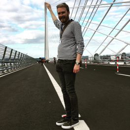 Me at Queensferry Crossing