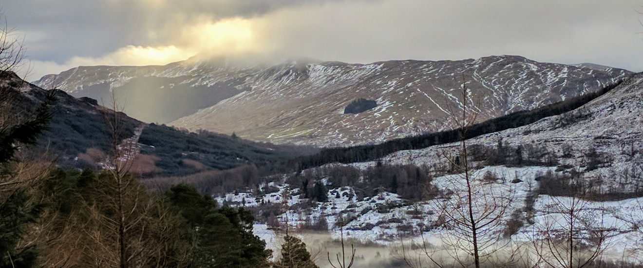 View over Balquhidder
