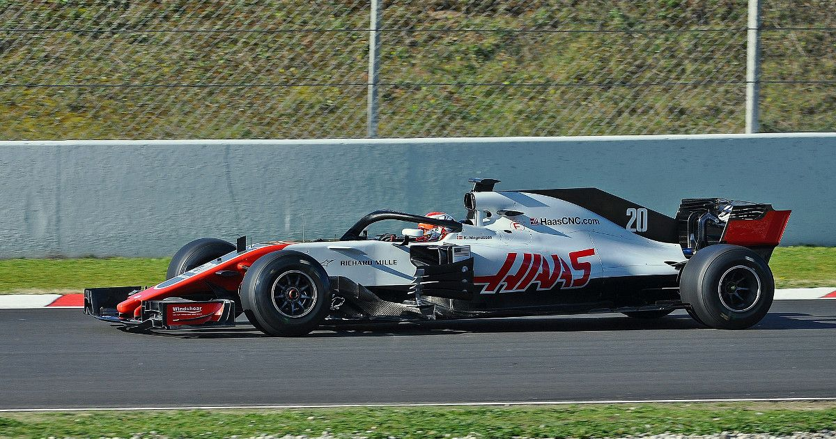 Kevin Magnussen testing in 2018 (photo by Alberto-g-rovi)