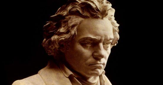 Bust of Ludvig van Beethoven