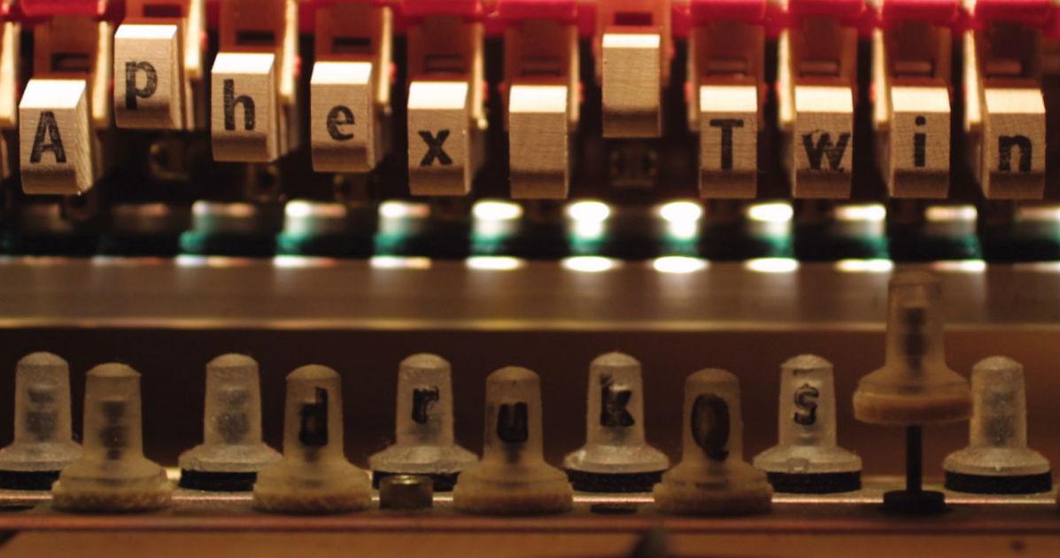 Drukqs album cover detail