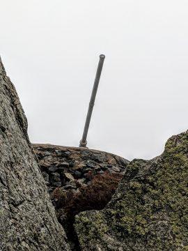 Remnants of cold war at Marstrand